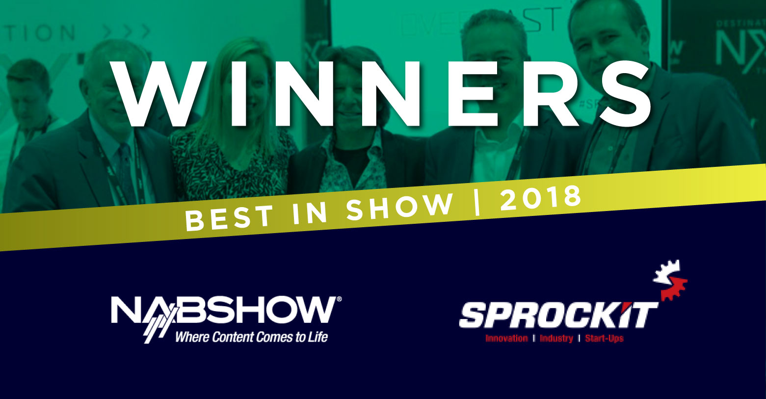 Overcast wins Best In Show Award at NAB 2018